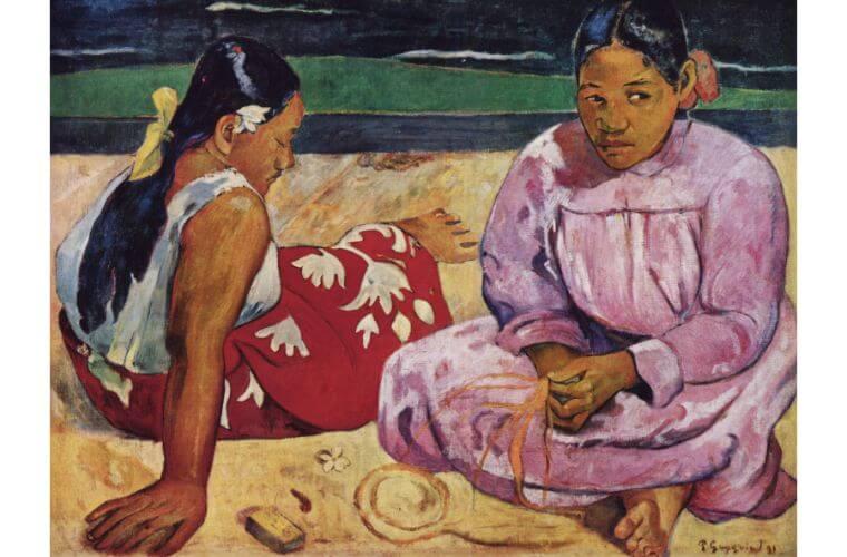 タヒチの女