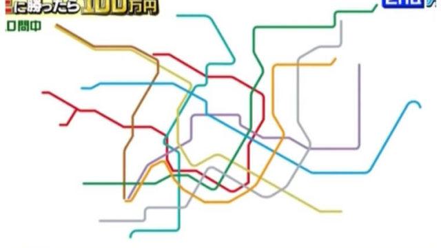 東京メトロの路線図