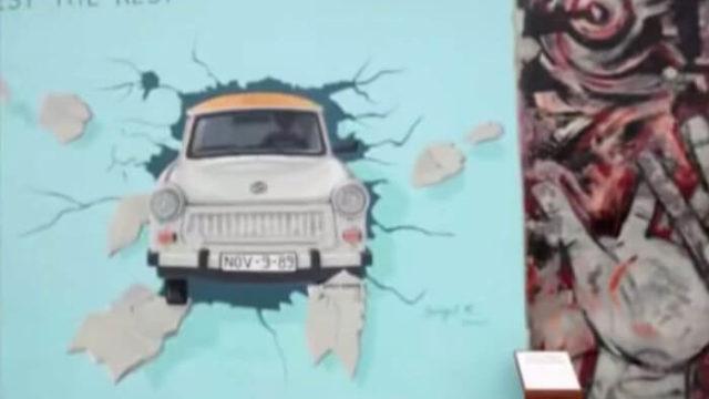 ベルリンの壁 アート トラバント