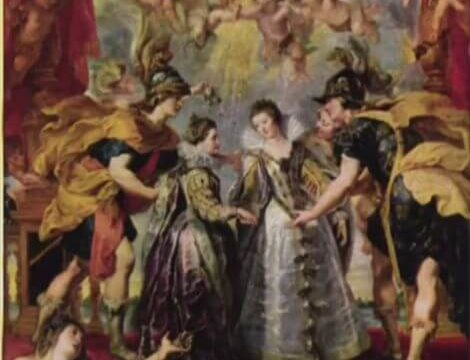 王女の交換 ルーベンス