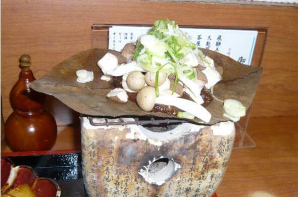 朴葉味噌(ほおばみそ)