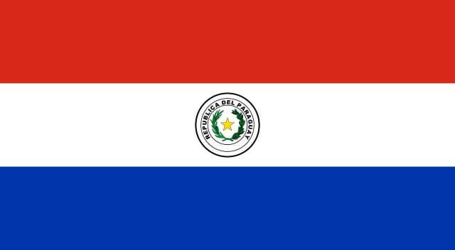 パラグアイ国旗 表
