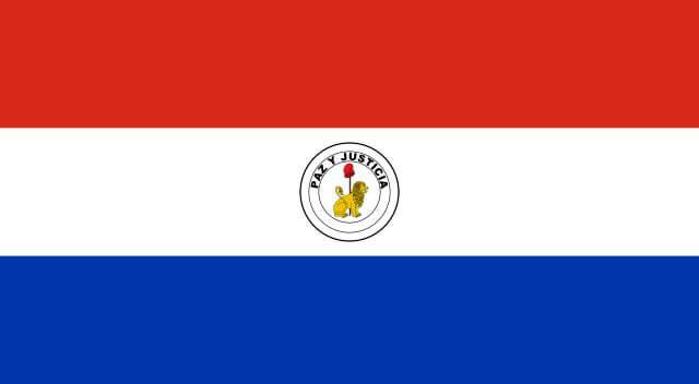 パラグアイ国旗 裏面
