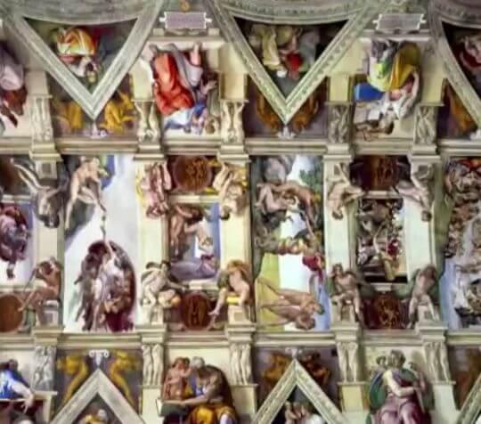 システィーナ礼拝堂 ミケランジェロ