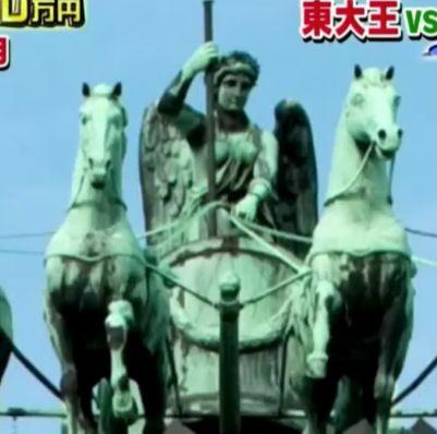 ブランデンブルク門の騎馬像