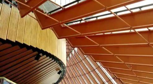 オペラハウスの内部