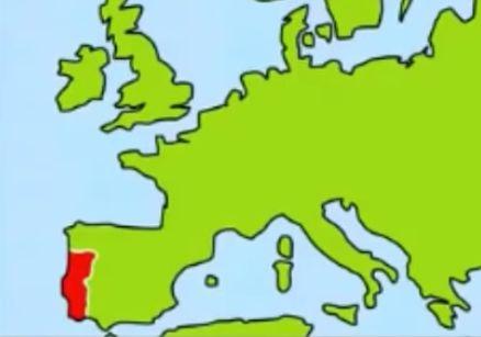 スペインの場所