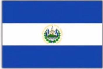 エルサルバドル共和国の国旗