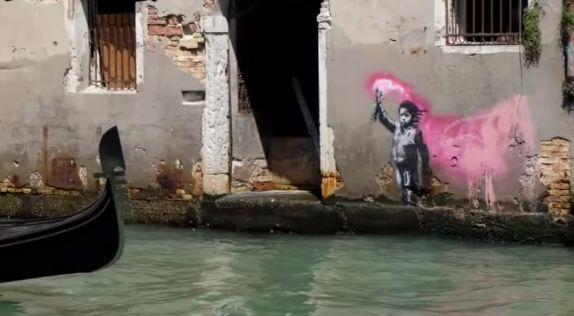 バンクシー ベネチア