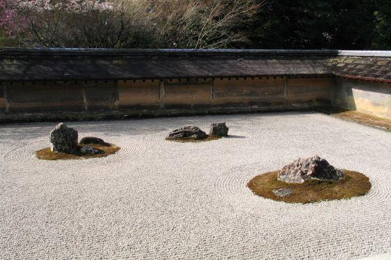 龍安寺 石庭 枯山水