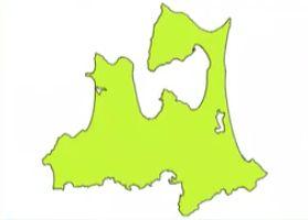 青森県の地図