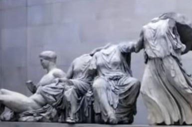 パルテノン神殿の彫刻