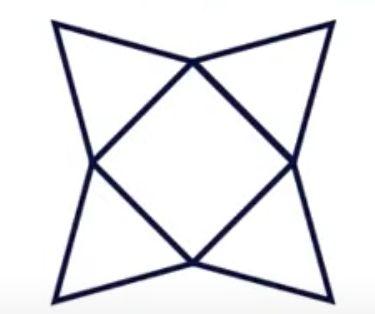四角錐の展開図