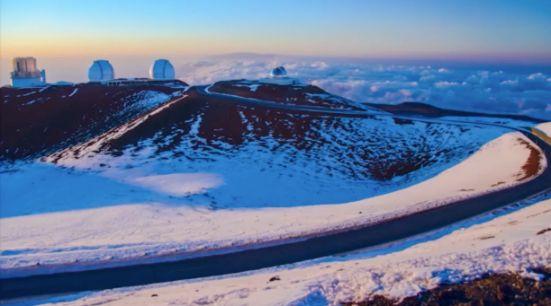ハワイ島マウナケア山山頂