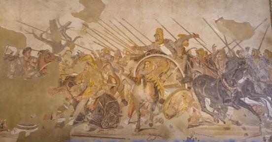 アレクサンドロスの大王のモザイク
