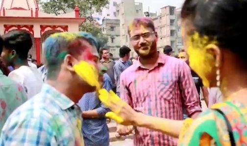 ホーリー祭り(インド)
